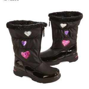 Girl's Totes Weatherproof Boots Size 5M